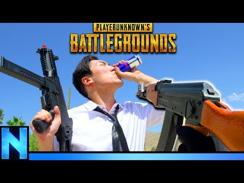PUBG AIRSOFT - REAL LIFE BATTLEGROUNDS!