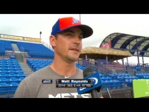 Video: SNY.tv Exclusive: Matt Reynolds