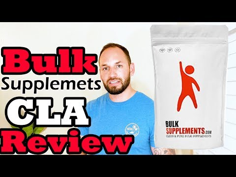 CLA Supplement by Bulk Supplements Fat Burner  Supplement Review