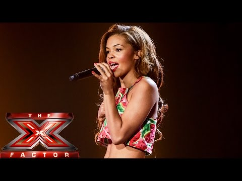stephanie - Visit the official site: http://itv.com/xfactor She may have been in a band before The X Factor, but can Stephanie Nala prove she can cut it as a solo artist with her version of Chris Isaak's...