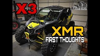 """5. 64 inch X3 XMR """"first thoughts"""""""