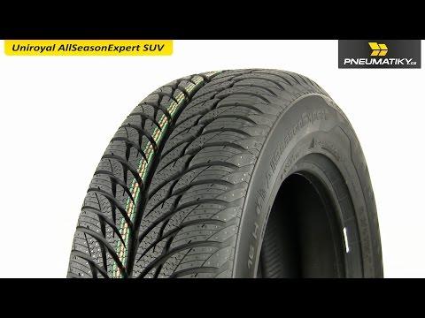 Youtube Uniroyal AllSeasonExpert SUV 215/65 R16 98 H FR Univerzální