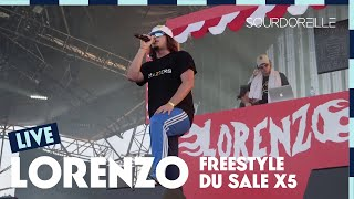 Video Lorenzo - Freestyle du Sale X 5 - Live (Eurockéennes 2017) MP3, 3GP, MP4, WEBM, AVI, FLV November 2017
