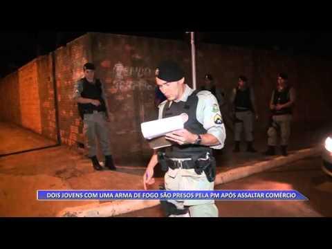 JATAÍ | Dupla armada é detida após assaltar comércio