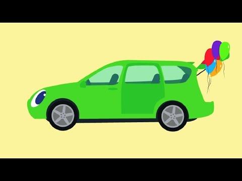 🚗 БИБИКА -  Все серии подряд - Машинки Самолетики Животные Овощи Фрукты - Развивающий мультик