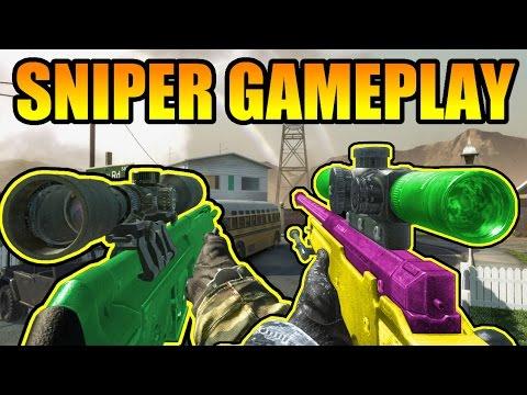 Sniper - Un gameplay au sniper L96A1 et PSG1 sur Call of duty Black Ops ○ Manettes Scuf moins cher avec le code