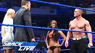 "Nonton John Cena and Nikki Bella storm onto ""Miz TV"": SmackDown LIVE, March 28, 2017 Film Subtitle Indonesia Streaming Movie Download"