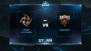 NiP vs Renegades, game 1