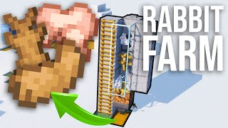 How to Build a Simple Rabbit Farm in Minecraft 1.14