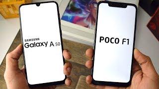 Samsung Galaxy A50 vs Xiaomi POCO F1: Speed Test!!!