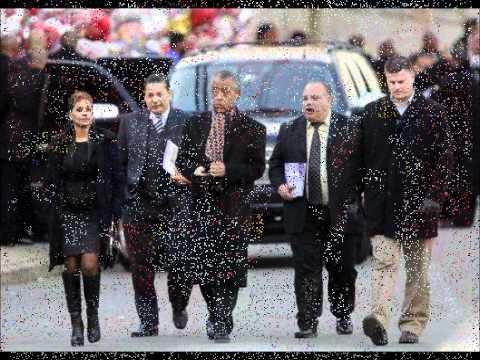 Whitney Houston Funeral Service