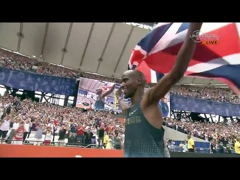 Mo Farah makes 3000m win look so easy - London Diamond League 2013