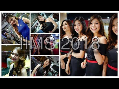 Wanita Paras Cantik Hiasi IIMS 2018