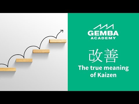 Learn What The True Meaning Of Kaizen Is