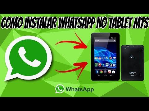 Baixar whatsapp - Como criar conta WhatsApp no tablet M7s sem chip (Melhor Método)
