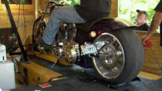 10. American Iron Horse Slammer on Cycle Dyno