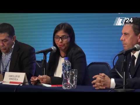Venezuela abandona consulta de la OEA