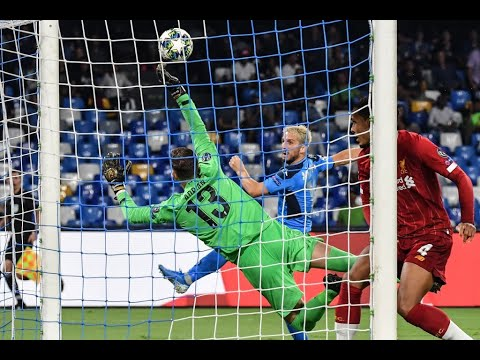 Adrian save vs Napoli | Liverpool FC | Champions League