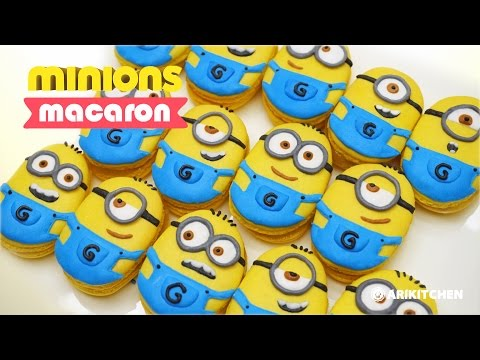 How to Make Minion Macarons! - Ari Kitchen