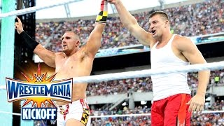 Nonton Rob Gronkowski helps Mojo Rawley win the Andre Battle Royal: WrestleMania 33 Kickoff, April 2, 2017 Film Subtitle Indonesia Streaming Movie Download