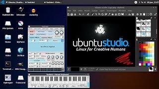 Video Ubuntu Studio: Creative Linux Distro MP3, 3GP, MP4, WEBM, AVI, FLV Juni 2018