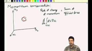 Mod-01 Lec-10 Momentum conservation equation