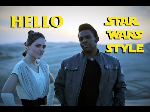 Adele - Hello Star Wars Parody