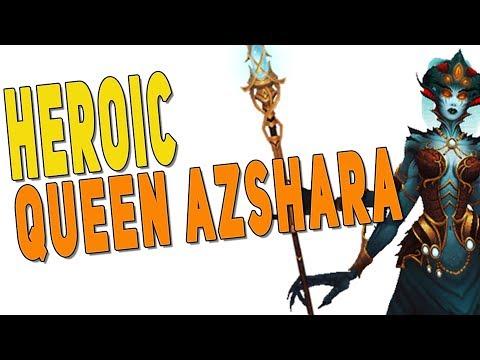 BfA 8.2 Heroic Queen Azshara - Resto Druid PoV | Eternal Palace - WoW: Battle for Azeroth