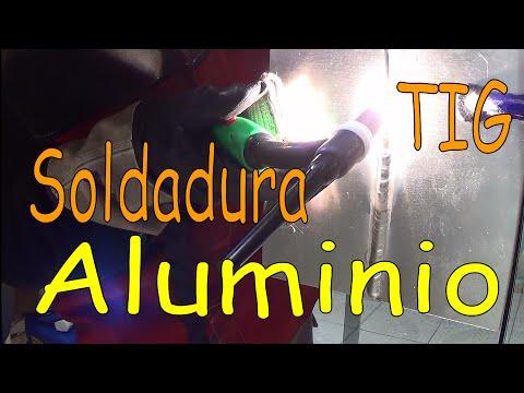 Soldadura TIG aluminio - Estimados amigos que hablan español, como yo prometí a ustedes, este es el primer video que subo con la versión española. Yo no hablo español muy bien, enton...