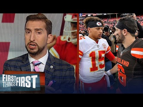 Baker and Mahomes is this generation's Brady/Manning - Nick Wright | NFL | FIRST THINGS FIRST