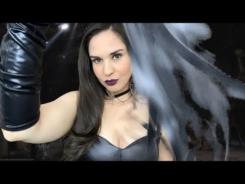ASMR-Dominatrix Kidnaps You Roleplay with Leather Sounds (Bilingual English/Español)