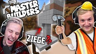TRYMACS spielt Minecraft MASTERBUILDERS... und er ist UNENDLICH schlecht darin!