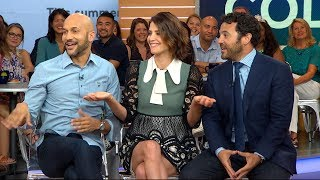 """Cobie Smulders, Keegan Michael Key and Fred Savage appear live on """"GMA"""" to discuss the new Netflix original series."""