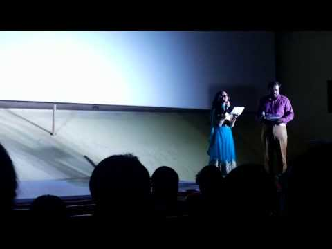 Nee enna maayam seidhai movie Audio launch intro by Chennai Anchor Nandhini