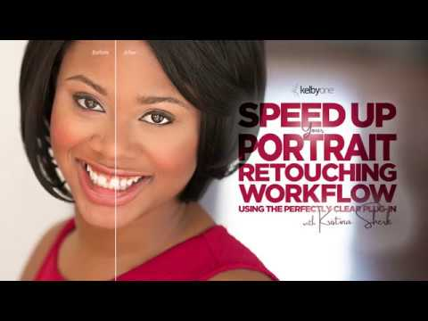 Speed Up Your Portrait Retouching Workflow Using the Perfectly Clear Plug-In | Class Trailer