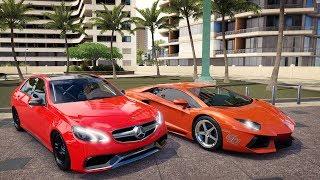 Lamborghini Aventador VS Mercedes E63 AMG V12 Biturbo - Forza Horizon 3 Online - GoPro - ZOIOOGAMER