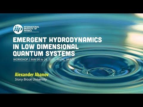 Fluid dynamics with odd viscosity - Alexander Abanov