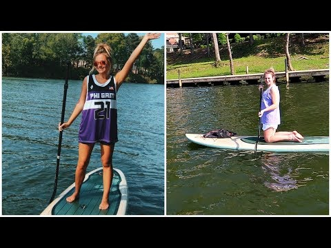 WEEKEND IN MY LIFE | Paddle Boarding & Tornado Warning