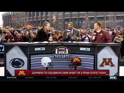 Gophers Ron Johnson and Dan Nystrom Talk 1999 win over Penn State | Minnesota Football