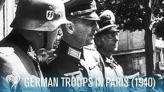 Video German Troops In Paris: World War II (1940) | British Pathé MP3, 3GP, MP4, WEBM, AVI, FLV Agustus 2019
