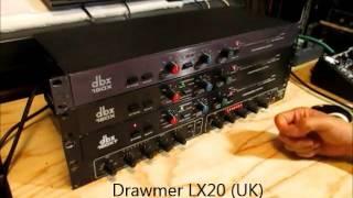 Video 80's DBX / Drawmer Compressor Comparison Test MP3, 3GP, MP4, WEBM, AVI, FLV Juli 2018