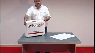 Cómo se utiliza el sistema Perf-off-set Plus