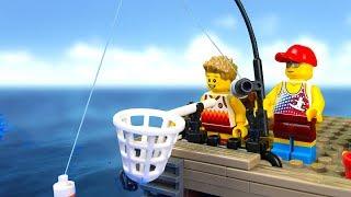 Video LEGO Extreme Fishing 🐙 LEGO Stop Motion Animation 🔴 MP3, 3GP, MP4, WEBM, AVI, FLV September 2019