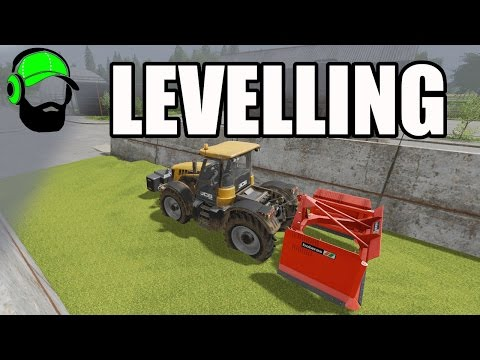 Farming Simulator 17 Courseplay Tutorial -How To Use Levelling Mode -#FS17