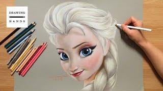 Nonton 겨울왕국 - 엘사 그림 그리기 (Speed Drawing Elsa Frozen, 2013)  [Drawing Hands] Film Subtitle Indonesia Streaming Movie Download