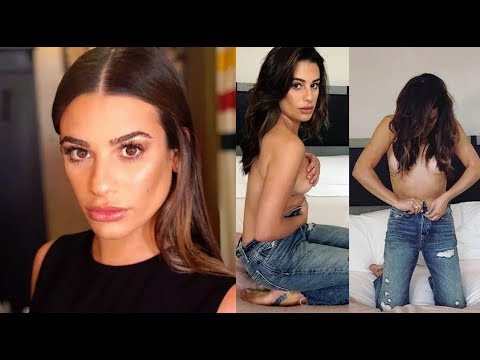 Lea Michele Goes Topless for Her Bed Series!