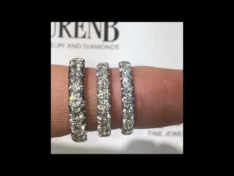 Diamond Eternity Bands Comparison