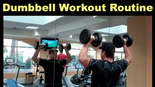 Dumbbell Workout - Total Body Circuit Routine