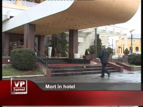 Mort în hotel