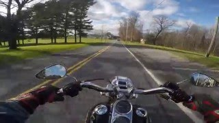 1. 2003 used Harley Davidson Dyna Low Rider Test Drive